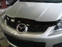 SIM Мухобойка капота Мазда СХ-7 (дефлектор на капот Mazda CX-7)