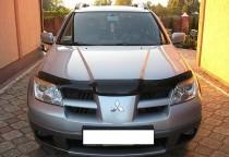 мухобойка капота Mitsubishi Outlander 1