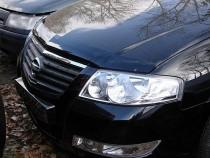 Мухобойка капота Ниссан Альмера Классик B10 (дефлектор на капот Nissan Almera Classic B10)
