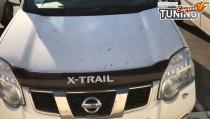 Купить дефлектор на капот Ниссан Х-Трейл Т31 кузов