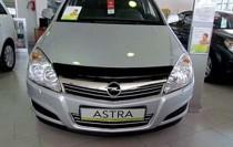 Мухобойка капота Опель Астра Н (дефлектор на капота Opel Astra H)