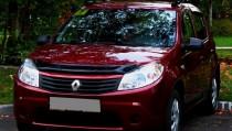 мухобойка Renault Sandero 1