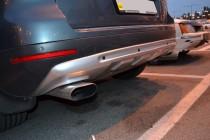 Накладки на бампера VW Touareg 1 (купить обвес на Фольксваген Ту