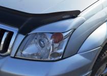 Реснички Jaos на фары Toyota Prado 120 (реснички Джаос Тойота Пр