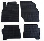 Резиновые коврики Ниссан Альмера Н16 (коврики в салон Nissan Almera N16)