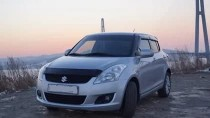 Дефлектор капота для Suzuki Swift 2010 фото