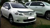 SIM Дефлектор капота Тойота Аурис 1 (мухобойка Toyota Auris 1)