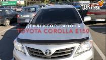 Мухобойка Тойота Королла 150 (дефлектор капота Toyota Corolla E150)