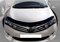 Дефлектор капота Тойота Королла 11 (мухобойка Toyota Corolla E170)
