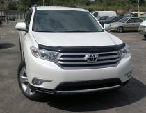 мухобойка Toyota Highlander 2 рестайл