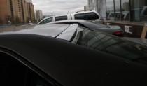 Козырек на заднее стекло Toyota Camry V50 (бленда на стекло Тойо