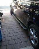 Пороги Mercedes Vito W447 дизайн Almond черные