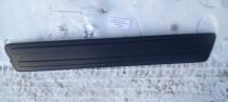 Зимняя накладка на решетку бампера Рено Сандеро 2 матовая (заглушка Renault Sandero 2)