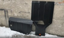 Защита двигателя Ауди Ку7 (защита картера Audi Q7 4M, радиатора, КПП)