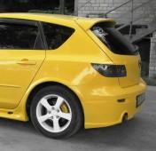 Спойлер Мазда 3 Bk хэтчбек (задний спойлер на Mazda 3 Bk Hatchback)