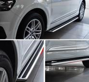 Боковые подножки Audi Q3 оригинал