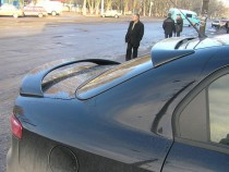Спойлер на заднее стекло Alfa Romeo 159 (козырек)