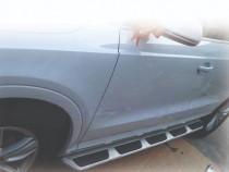 Боковые пороги для Audi Q5 оригинал OEM