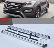 Подножки боковые Hyundai Santa Fe 3 DM оригинальные