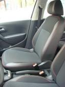 Чехлы в салон Фольксваген Поло 5 седан (авточехлы на сиденья Vol