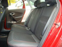 Чехлы в авто Фольксваген Поло 5 седан (авточехлы на сиденья Volk