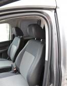 Чехлы в салон Volkswagen Caddy (авточехлы на сиденья Фольксваген