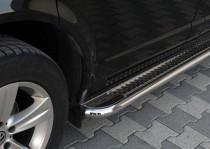 Подножки боковые Nissan Pathfinder R51 из нержавейки