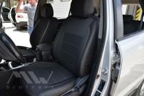 Чехлы в салон Хендай Санта Фе 2 СМ (авточехлы на сиденья Hyundai