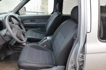 Чехлы Ниссан НП300 (авточехлы на сиденья Nissan NP300)