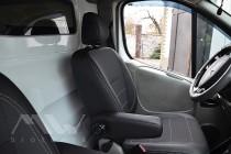 Чехлы в салон Опель Виваро 1 (1+1) (авточехлы Opel Vivaro 1)