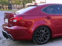Тюнинг спойлер бленда на стекло Lexus IS250