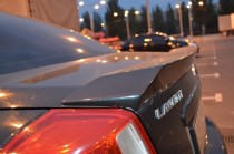 Спойлер Шевроле Лачетти седан (задний спойлер на багажник Chevrolet Lacetti)