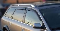 Ветровики Ауди А6 Авант (дефлекторы окон Audi A6 Avant)