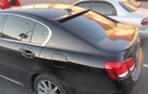 Установка спойлера на заднее стекло Lexus GS350 (пластиковый коз