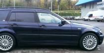 Ветровики на БМВ 3 Е46 универсал (дефлекторы окон BMW 3 E46 Wagon)