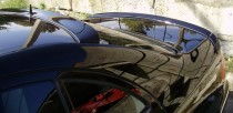 Оригинальный спойлер на багажник Мерседес W211 (лип спойлер Merc