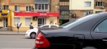 заказать Спойлер Mercedes W211 (задний спойлер на багажник Мерсе