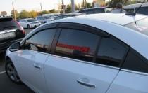 заказать Ветровики Chevrolet Cruze 1 седан (дефлекторы окон Шевр