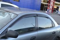 Ветровики Шевроле Ланос (дефлекторы окон Chevrolet Lanos)