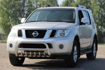 Кенгурятник Ниссан Патфайндер R51 (защита переднего бампера Nissan Pathfinder R51)