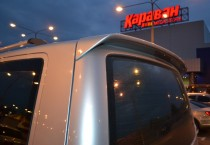 Спойлер Фольксваген Транспортер Т5 ляда (задний спойлер Volkswagen Transporter T5 одна дверь)