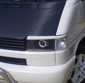Реснички на передние фары Фольксваген Транспортер Т4 (фото накла