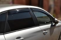 Ветровики Ситроен С4 2 седан (дефлекторы окон Citroen C4 2 sd)