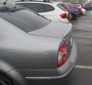 Спойлер на багажник Фольксваген Пассат Б5 (спойлер на VW Passat