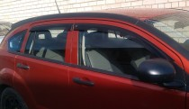 Ветровики Додж Калибр (дефлектор окон Dodge Caliber)