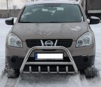 Кенгурятник Nissan Qashqai 1 (защита переднего бампера Ниссан Кашкай 1)