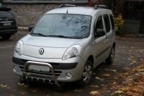 защита переднего бампера Renault Kangoo 2
