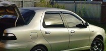 Ветровики Фиат Альбеа (дефлекторы окон Fiat Albea)