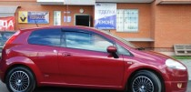 Ветровики Фиат Гранде Пунто (дефлекторы окон Fiat Grande Punto 3d)