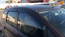 Ветровики Форд С-Макс 1 (дефлекторы окон Ford C-Max 1)